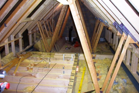 The Build Cjs Lofts Loft Conversion In Gloucestershire