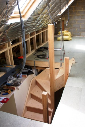 The CJS Lofts Staircase Is Individually Hand Crafted By A Specialist Carpenter And Completely Bespoke To Your Loft Conversion Home